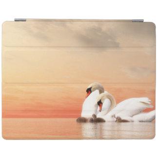 Cover De iPad Familia del cisne