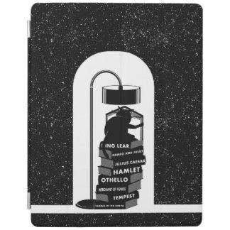 Cover De iPad Gato que lee los juegos de Shakespeare