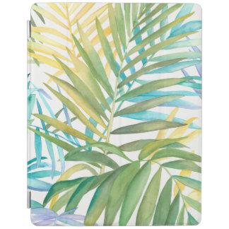 Cover De iPad Hojas de palma tropicales