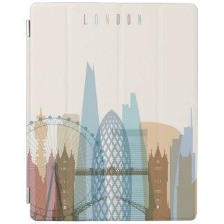 Cover De iPad Horizonte de la ciudad de Londres, Inglaterra el |