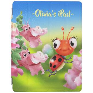 Cover De iPad Mariquita de encargo y cubierta amistosa del iPad