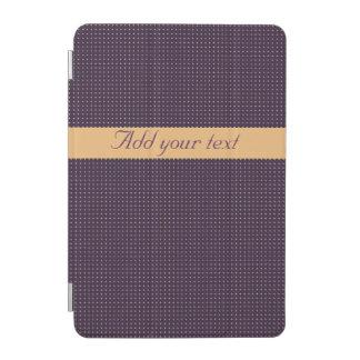 Cover De iPad Mini Cubierta elegante del iPad púrpura moderno