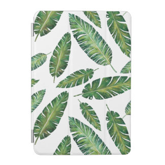 Cover De iPad Mini El plátano de la acuarela sale del modelo tropical
