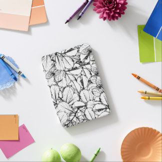 Cover De iPad Mini Hojas del blanco