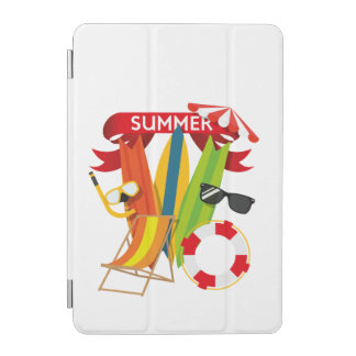 Cover De iPad Mini Playa Watersports del verano