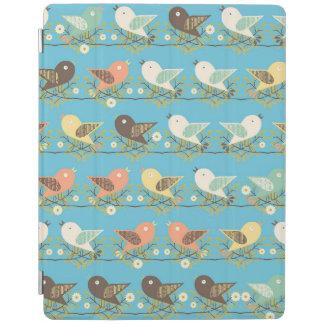 Cover De iPad Modelo clasificado de los pájaros