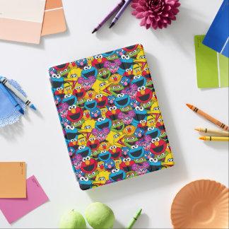 Cover De iPad Modelo del equipo del Sesame Street