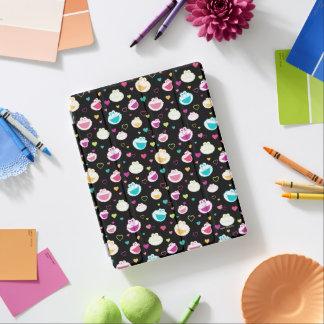 Cover De iPad Modelo dulce del corazón de la materia de Elmo y