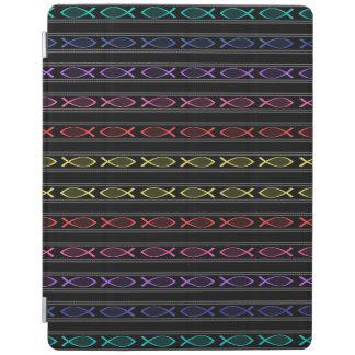 Cover De iPad modelo multicolor de los pescados de Jesús