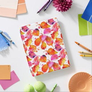 Cover De iPad Modelo precioso de las hojas de otoño de la