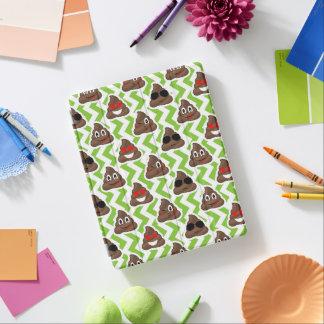 Cover De iPad Modelo verde Emojis del impulso del zigzag
