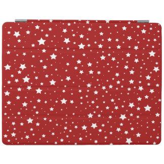 Cover De iPad navidad elegante de la nieve de la estrella de la