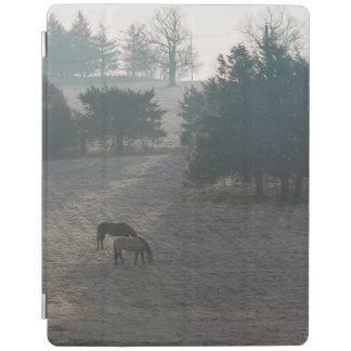 Cover De iPad Pasto de niebla