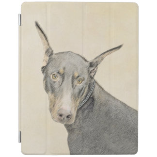 Cover De iPad Pinscher del Doberman