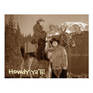 ¡cowboyus, Howdy usted! Postal