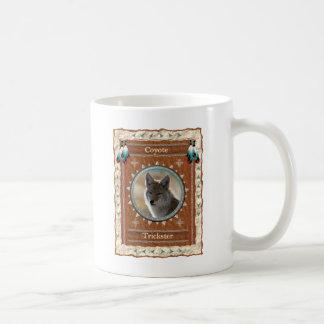 Coyote - taza de café clásica del trickster