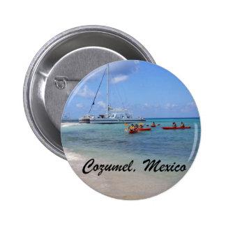 Cozumel, México Chapa Redonda De 5 Cm