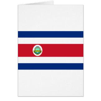 CR de la bandera de Costa Rica Felicitación