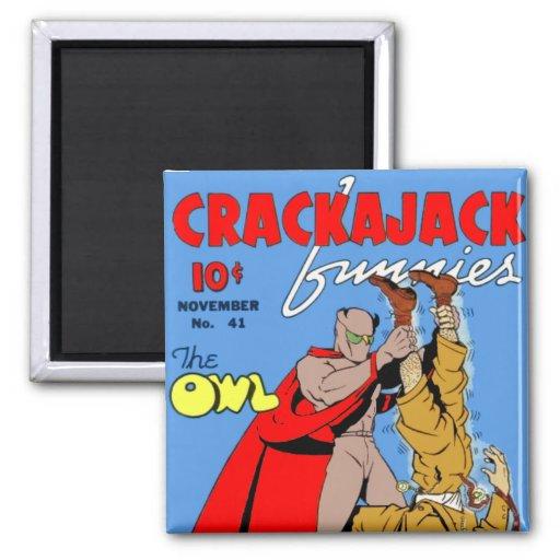Crackajack Funnies Imán De Frigorífico