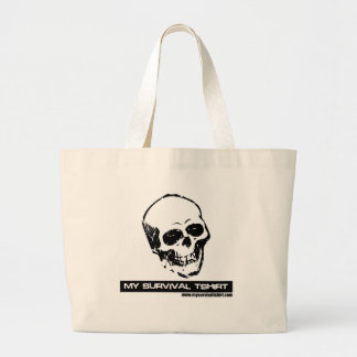 Cráneo 05 bolsa tela grande