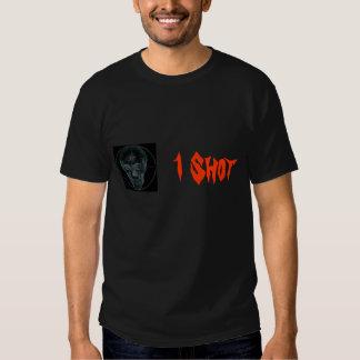 Cráneo 2, 1 tiro del retículo camisetas