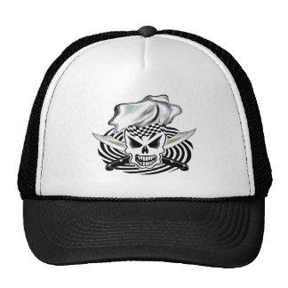Cráneo 2 del cocinero gorras