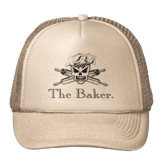 Cráneo 2 del panadero: Rodillos cruzados Gorro De Camionero