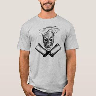 Cráneo 3 del carnicero camiseta