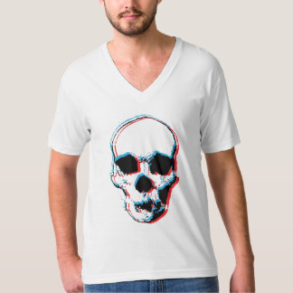cráneo 3D Camisas