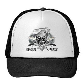 Cráneo 4 del cocinero gorras