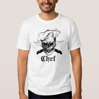 Cráneo 6 del cocinero camisas