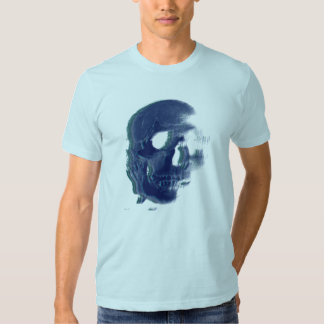 cráneo 80s camiseta