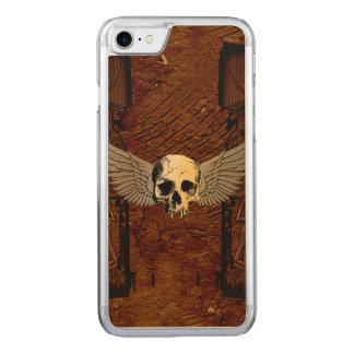 Cráneo con las alas funda para iPhone 7