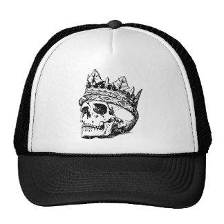Cráneo coronado gorra