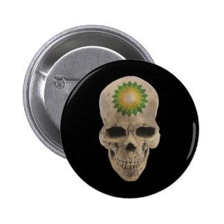 Cráneo de BP Chapa Redonda De 5 Cm