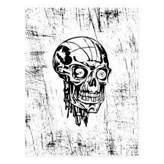 Cráneo de BW, bosquejo Postal