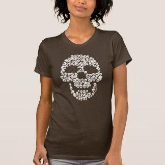 Cráneo de cráneos camisetas