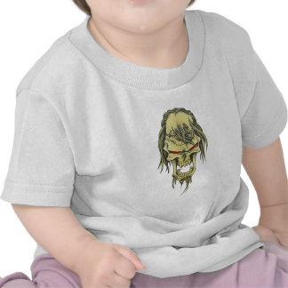 Cráneo de demonio calavera demon skull camiseta