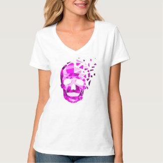 Cráneo de estallido camiseta