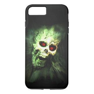 Cráneo de griterío Halloween del zombi Funda iPhone 7 Plus