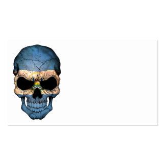 Cráneo de la bandera de El Salvador