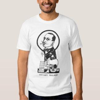 Cráneo de la caricatura del actor de la película camisetas