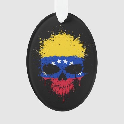 Cráneo de la salpicadura del goteo de Venezuela