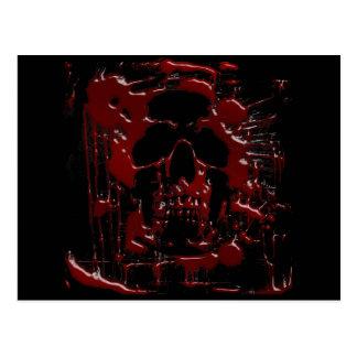 Cráneo de la sangre postal