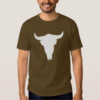 Cráneo de la vaca camisas