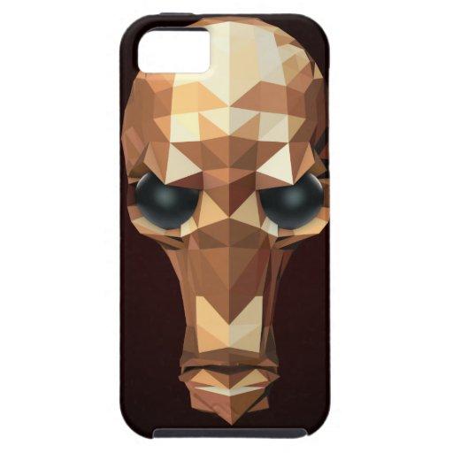 Cráneo de oro iPhone 5 cárcasa