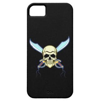 Cráneo de pirata pirate skull iPhone 5 Case-Mate carcasa