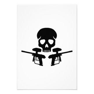 Cráneo del arma de Paintball