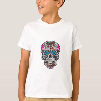 cráneo del azúcar del brillo camiseta