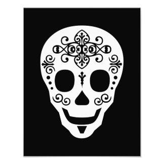 Cráneo del azúcar del señor por las pimientas de L Impresion Fotografica